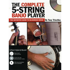 Tony Trischka: The Complete 5-String Banjo Player (Book/CD)