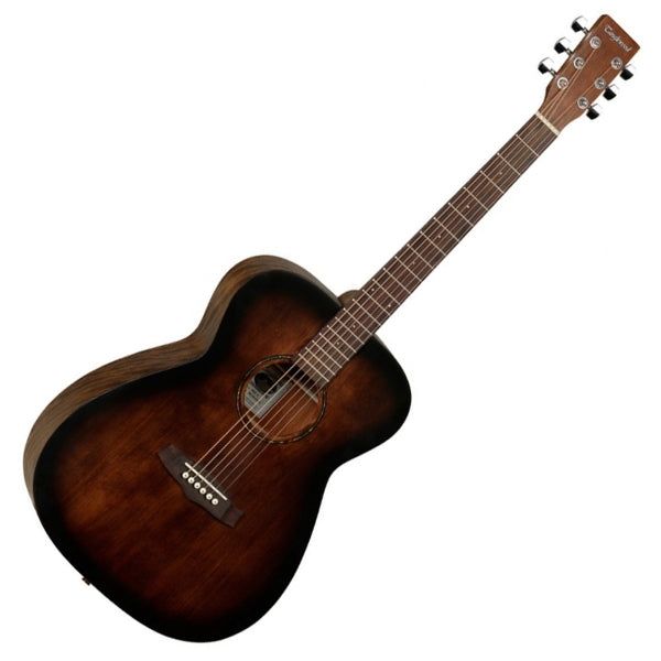 Crossroads Folk Acoustic Guitar - Whiskey Barrel Burst