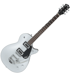 Gretsch G5230T Electromatic Jet Single-Cut with Bigsby - Black Walnut Fingerboard - Airline Silver