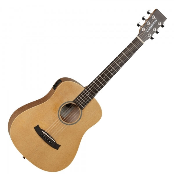 TW2-TSE Winterleaf Orchestral Travel - Spruce - Electro Acoustic Guitar with Gig Bag