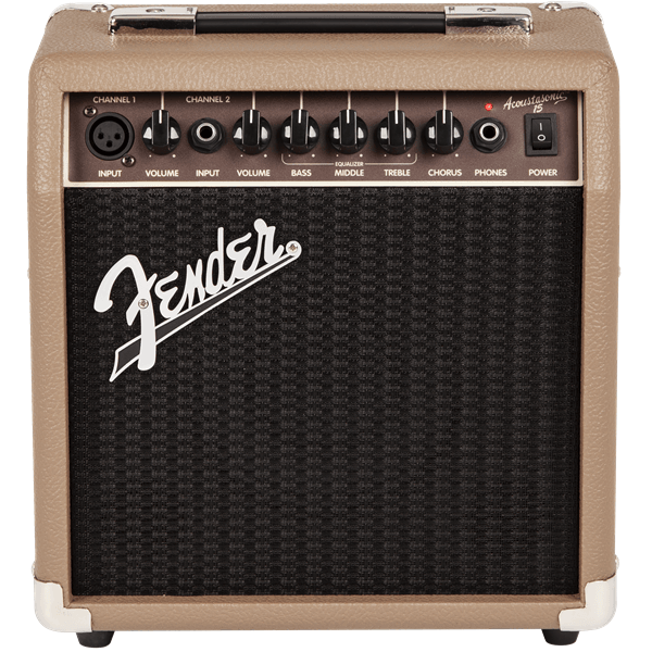 Acoustasonic™ 15 Dual Channel Acoustic Amplifier