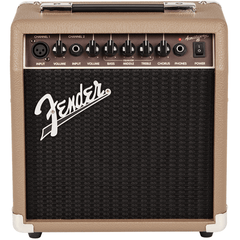 Fender Acoustasonic™ 15 Dual Channel Acoustic Amplifier