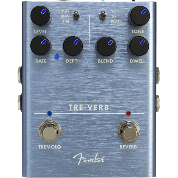 TRE-VERB Tremelo/ Reverb Effects Pedal