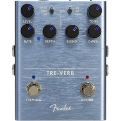 Fender TRE-VERB Tremelo/ Reverb Effects Pedal