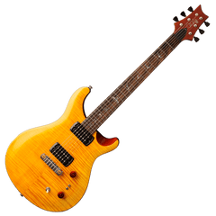 PRS SE Paul's Guitar - Tobacco Back - Amber