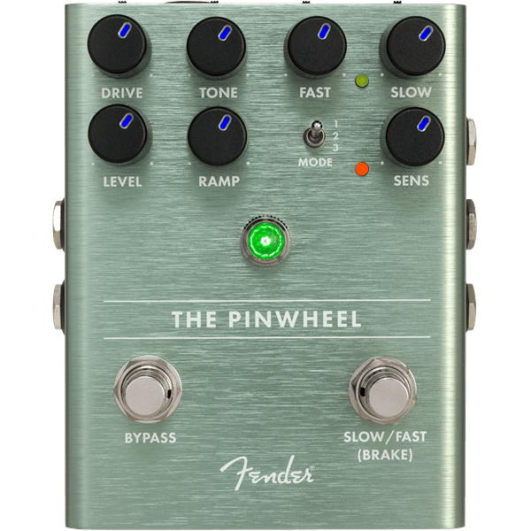 The Pinwheel Rotary Speaker Emulator Effects Pedal