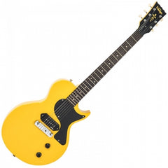 Vintage V120 Reissued Electric Guitar - TV Yellow