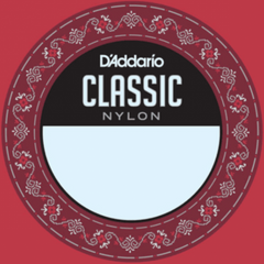 D'Addario J2706 Single Nylon Classical Guitar String - 6th Low E