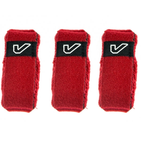 Gruvgear FretWraps™ String Muters (3-Pack) - Red - Small