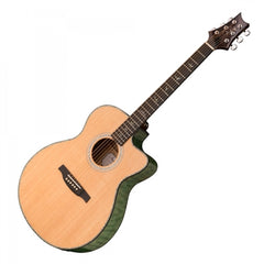 PRS SE Angelus Cutaway A55E Electro Acoustic - Abaco Green