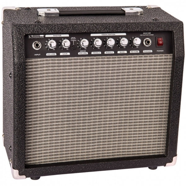 KGX15R 15 Watt Electric Guitar Amplifier with Reverb