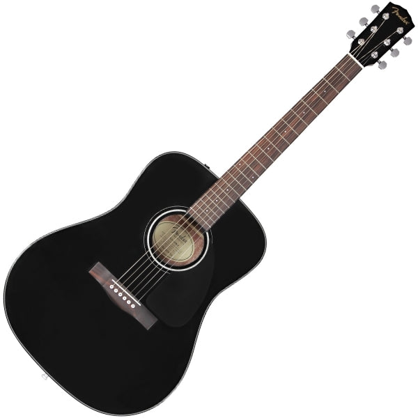 CD-60 Dreadnought Acoustic Guitar - Black