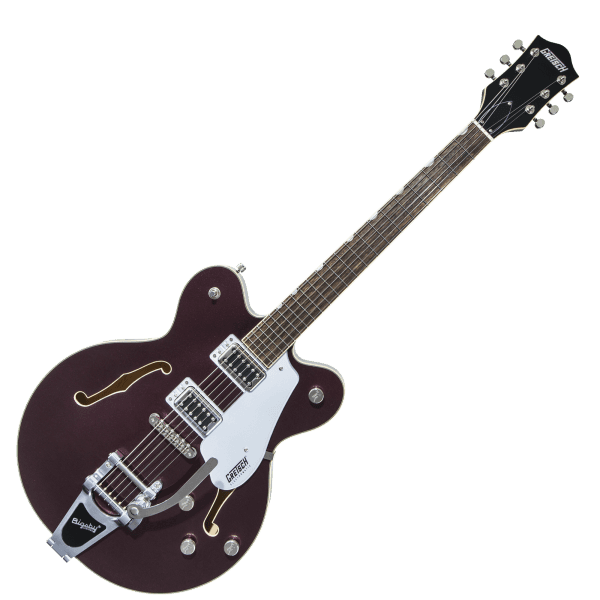 Electromatic G5622T Double Center Block with Bigsby - Dark Cherry Metallic