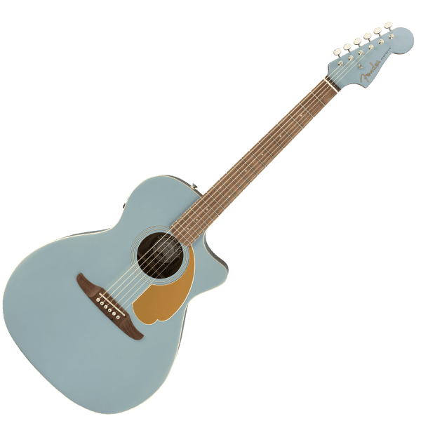 Newporter Player - Walnut Fingerboard- Electro Acoustic - Ice Blue Satin