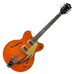 Gretsch Electromatic G5622T Double Center Block with Bigsby - Orange Stain