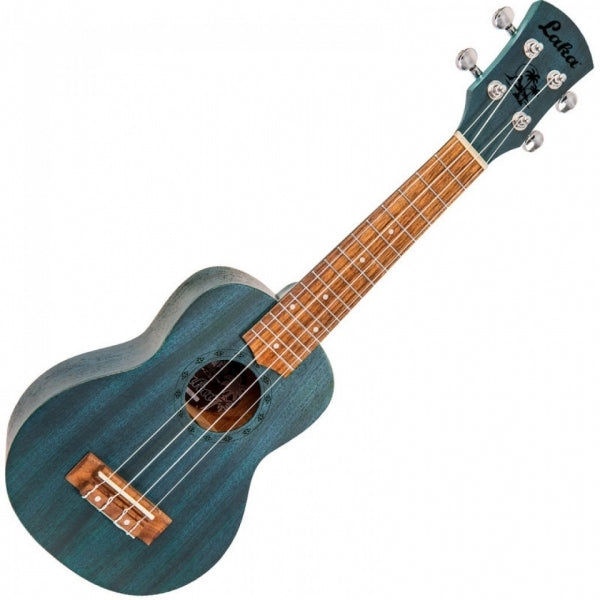VUS5BL Soprano Ukulele with Bag - Midnight Blue