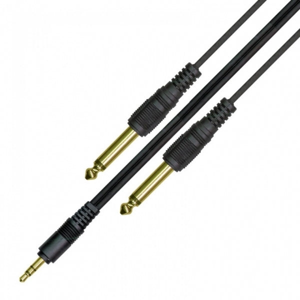 LPAC02 Soundcard Audio Cable - Stereo to Mono - 10ft/3m