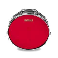 "Evans B14HR 14"" Hydraulic RED Coated Snare Drum Head"