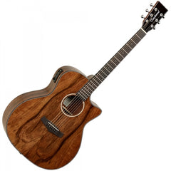 Tanglewood TVC-X-MP Grand Auditorium Evolution Exotic - Electro-Acoustic Guitar - Pacific Walnut
