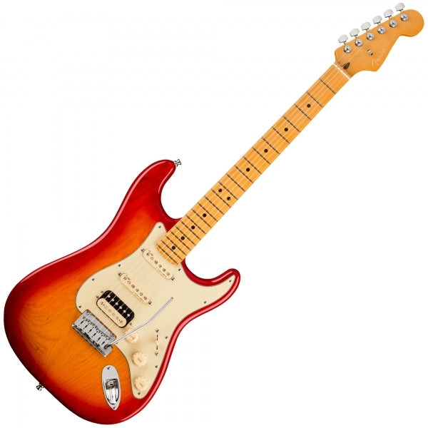 American Ultra Stratocaster HSS - Plasma Red - Maple Fingerboard