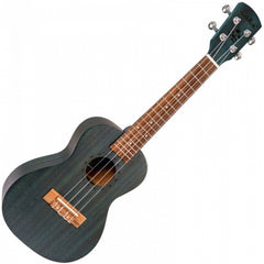 Laka VUC5BL Concert Ukulele with Bag - Midnight Blue