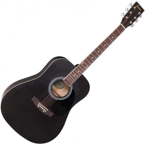 Dreadnought Acoustic Guitar - Black