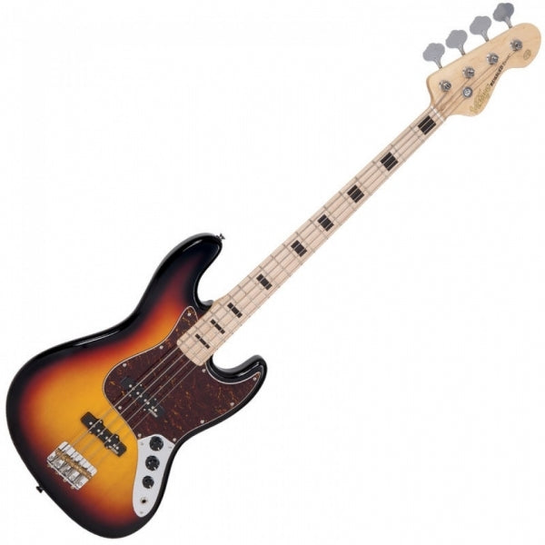 VJ74 Reissued Maple Fingerboard - Bass - Sunset Sunburst