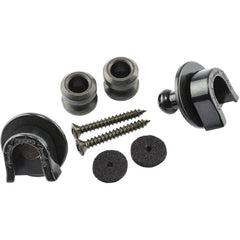 Fender Strap Locks & Strap Buttons - Black (0990690006)