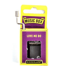 Hand Crank Music Box - Beatles Love Me Do