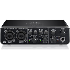 Behringer U-PHORIA UMC202HD Audiophile 2x2 - USB Audio Interface with MIDAS Mic Preamplifiers