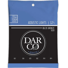 Darco by Martin D520 80/20 Bronze Acoustic Guitar Strings - 12-54