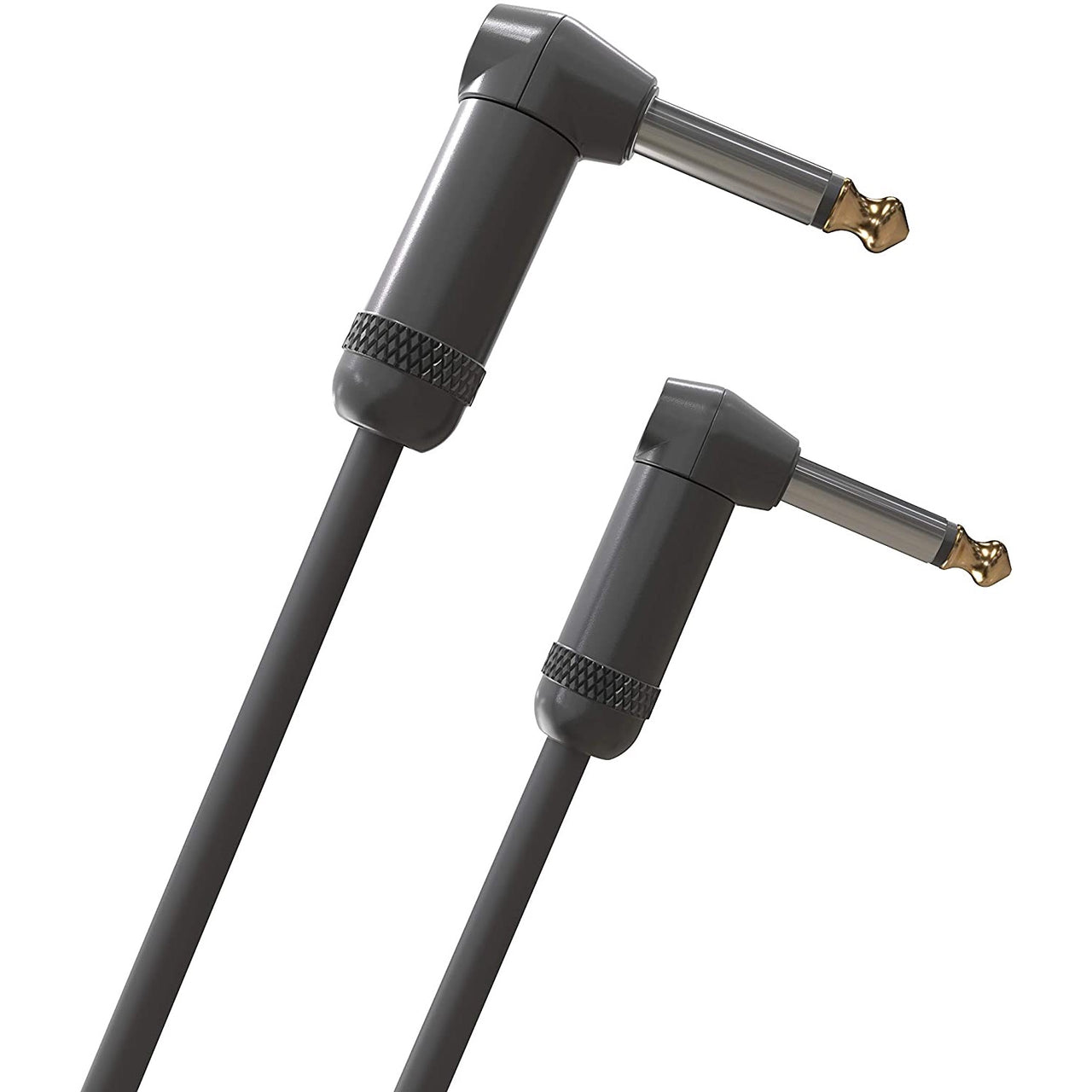 D'Addario American Stage Instrument Cable - 10ft (3meters) - Dual Right Angle
