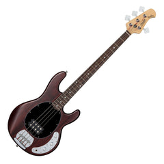 Sterling Sub RAY4 H Bass Guitar - Walnut Stain