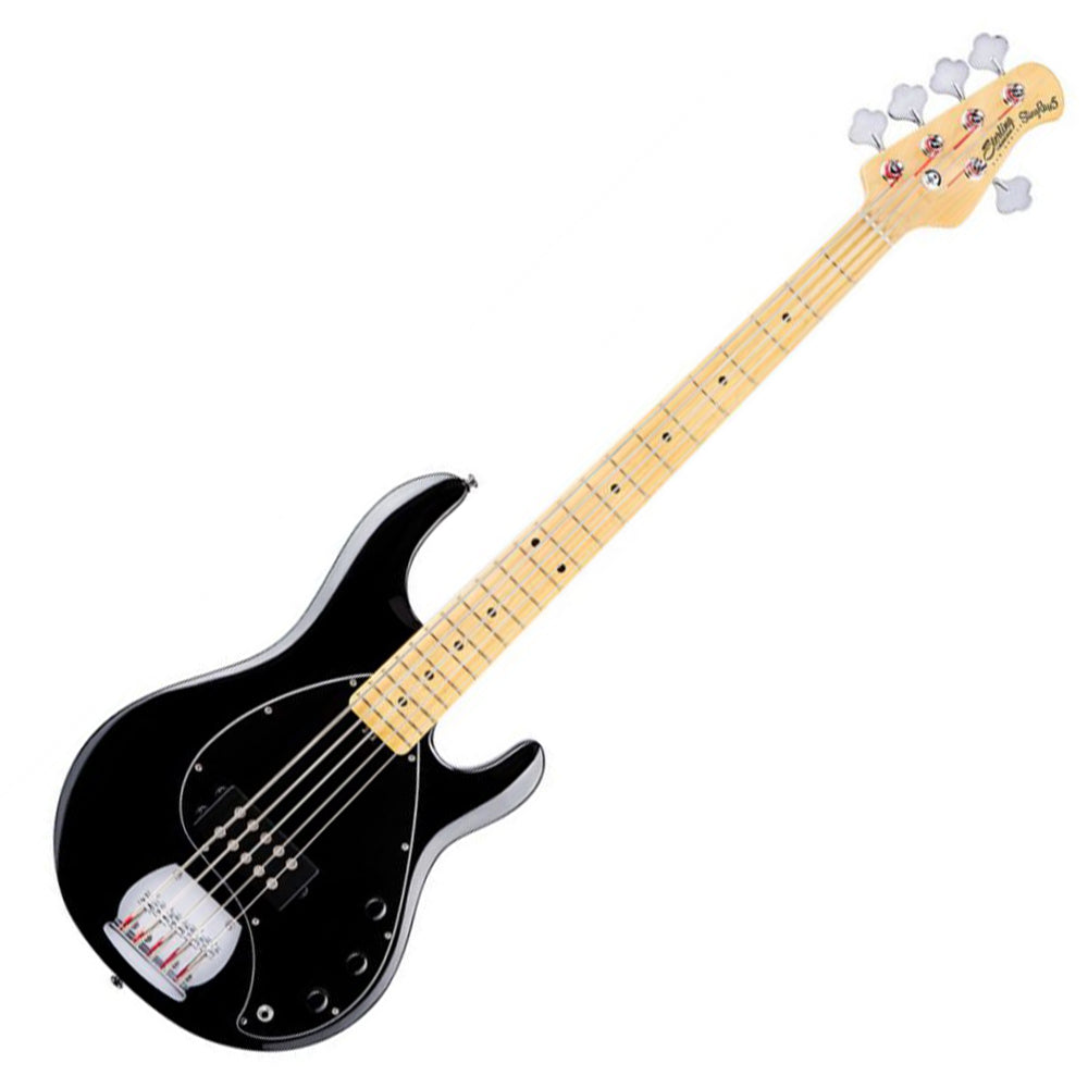 Sterling Sub RAY5 H Bass Guitar - Black