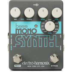 Electro-Harmonix Bass Mono Synth Effects Pedal