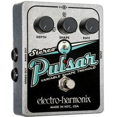 Electro-Harmonix Stereo Pulsar Variable Shape Analog Tremolo Pedal