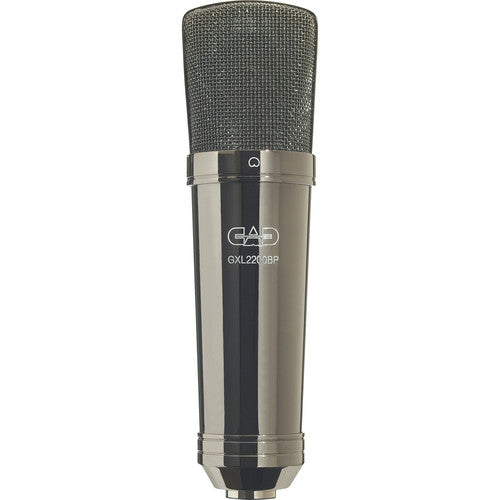 CAD Audio GXL2200BP Cardioid Condenser Microphone (Black Pearl Chrome Finish)