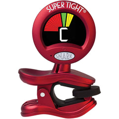 SNARK ST2 Clip On Super Tight Chromatic Tuner - All Instruments - Mic and Metronome - Red