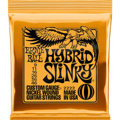 Ernie Ball 2222 Hybrid Slinky Electric Guitar Strings - 9-46