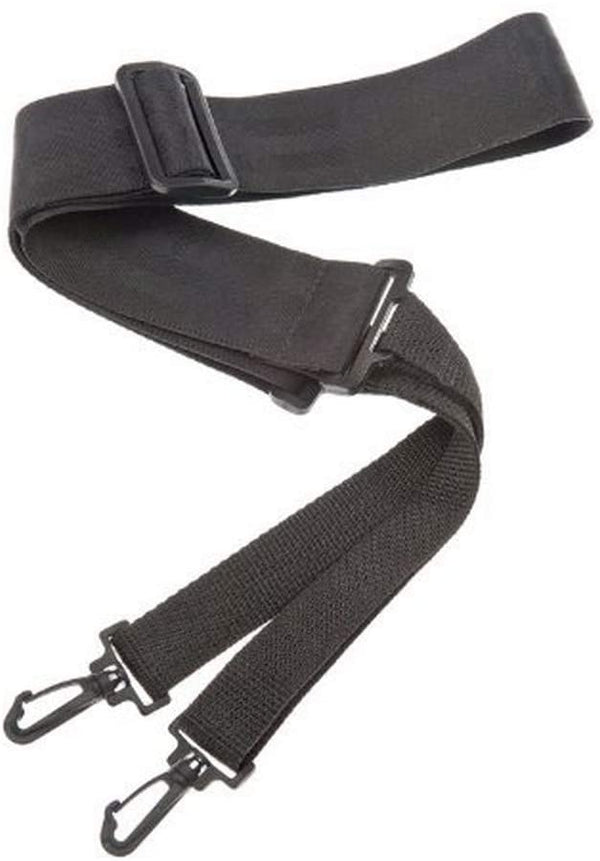 D'Addario 50mm Nylon Banjo Strap with Clips - Black