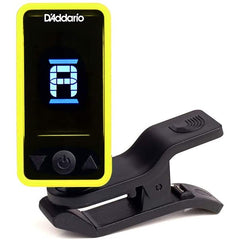 D'Addario CT-17 Eclipse Clip On Chromatic Guitar Tuner - Yellow