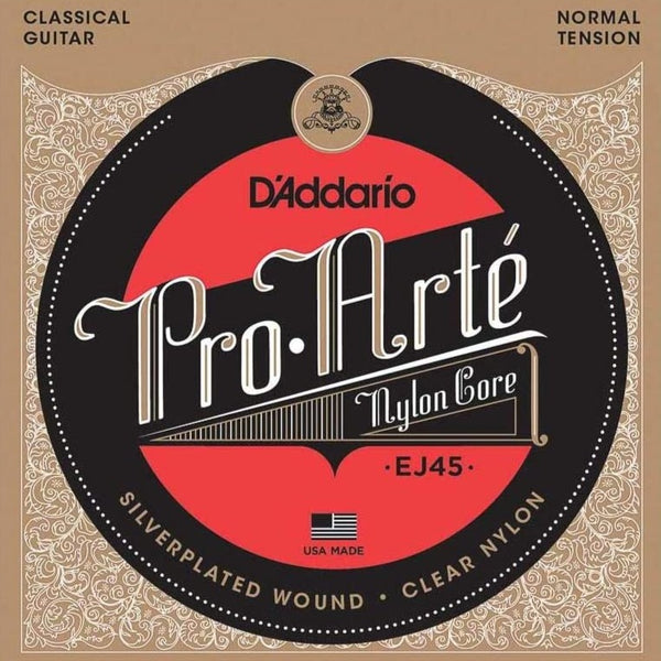 D'Addario EJ45 Pro-Arte Classical Guitar Strings Normal Tension 28-43
