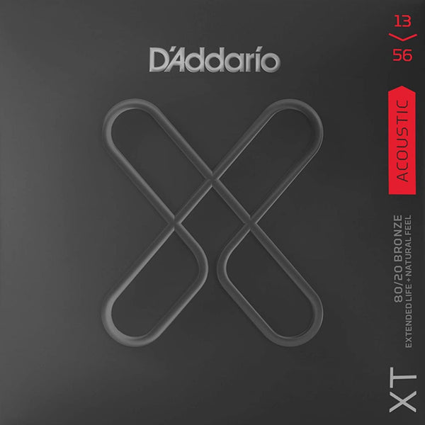 D'Addario XT Acoustic 80/20 Bronze - Medium - 13-56