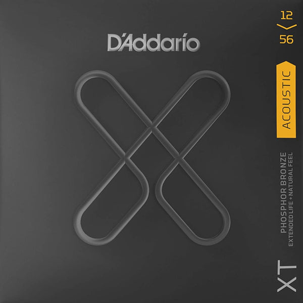 D'Addario XT Acoustic Phosphor Bronze - Light Top/Medium Bottom - 12-56