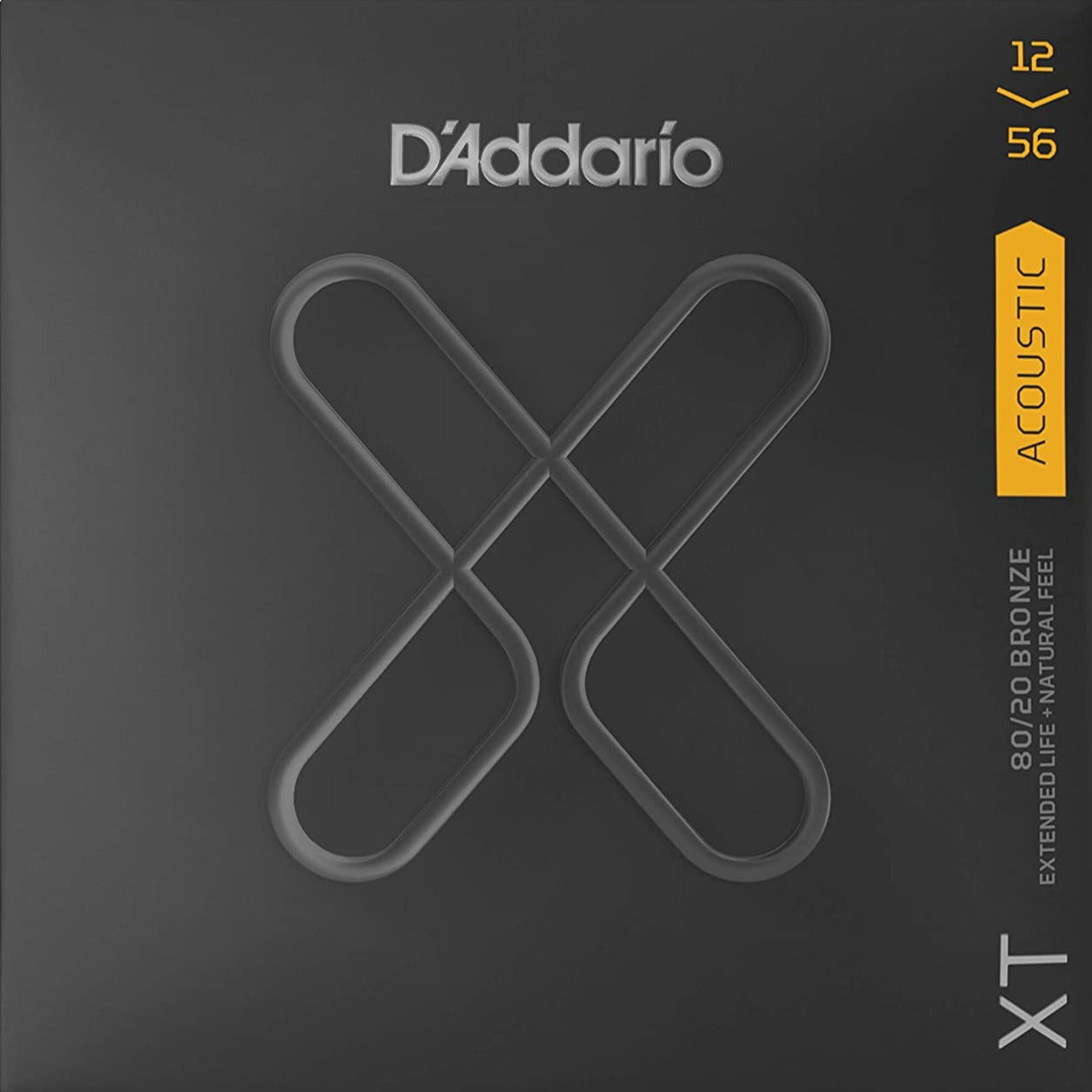 D'Addario XT Acoustic 80/20 Bronze - Custom Light - 12-56