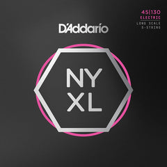 D'Addario NYXL45130 - Set Long Scale - Regular Light 5-String - 45-130