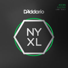 D'Addario NYXL4095 Bass Guitar Strings - Long Scale - Super Light - 40-95