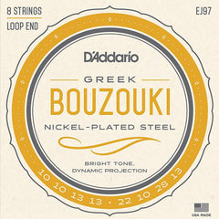 D'Addario EJ97 D'addario Greek Bouzouki Nickle-Plated Steel