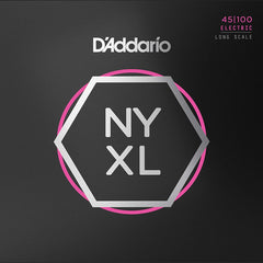 D'Addario NYXL45100 Bass Guitar Strings Long Scale - Regular Light - 45-100