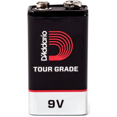 D'Addario Tour-Grade 9V Battery - 2 Pack